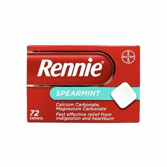 Rennie Tablets Spearmint (Pack of 72)