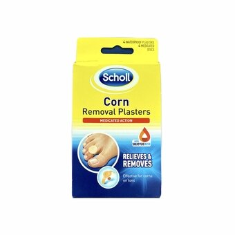 Scholl Corn Removal Medicated Plasters (Pack of 4)