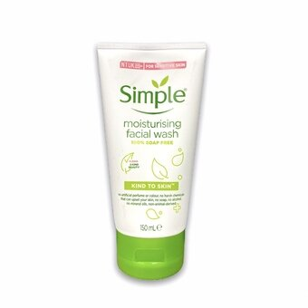 Simple Facial Wash Moisturising Foaming 150ml