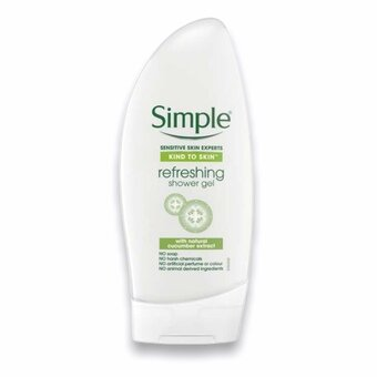 Simple Refreshing Shower Gel 250ml