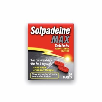 Solpadeine Max Tablets (Pack of 30)