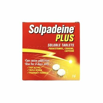 Solpadeine Plus Soluble Tablets (Pack of 16)