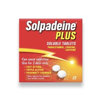 Solpadeine Plus Soluble Tablets  (Pack of 32)