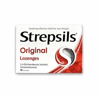 Strepsils Lozenges Original (Pack of 16)