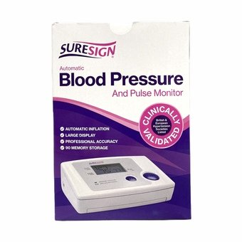 Suresign Automatic Blood Pressure and Pulse Monitor