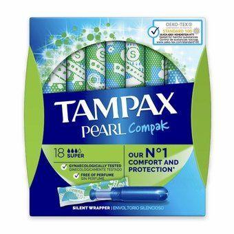 Tampax Pearl Compak - Super (Pack of 8)