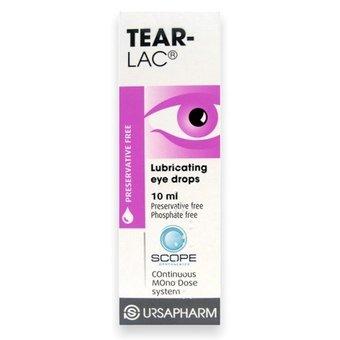 Tear-Lac Lubricating Eye Drops 10ml