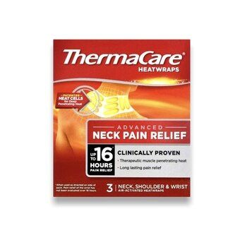 Thermacare Heat Wrap Neck, Shoulder & Wrist (Pack of 3)