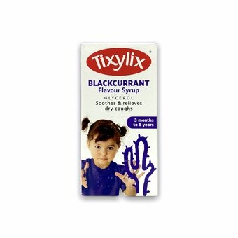 Tixylix Blackcurrant Flavour Syrup 100ml