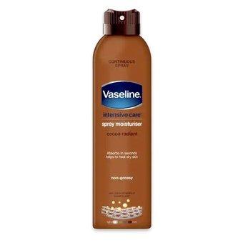 Vaseline Intensive Care Spray Moisturiser - Cocoa Radiant 190ml