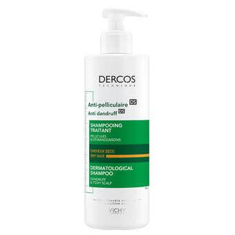 Vichy Dercos Anti-Dandruff&Itchy Scalp Shampoo - Dry Hair 200ml