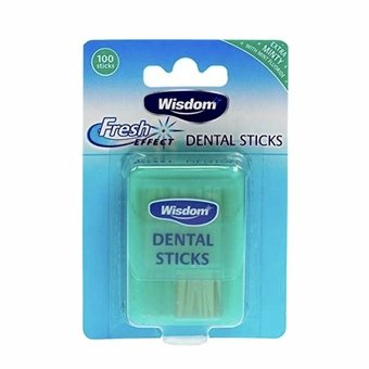 Wisdom Fresh Effect Dental Sticks (Pack of 100)